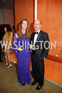 Patricia Vos, David Vos, Harmon Center Gala, October 17, 2011, Kyle Samperton