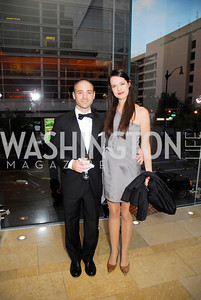 John Wilwol, Sophie Gilbert, Harmon Center Gala, October 17, 2011, Kyle Samperton
