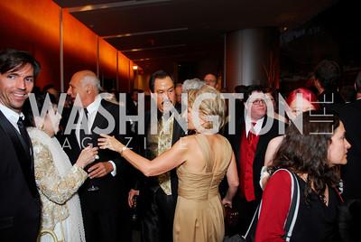 Charles Mitchem, Judith Terra, Maichael Kahn, Jose Albert Veles, Jane Harmon, cHarmon Center Gala, October 17, 2011, Kyle Samperton