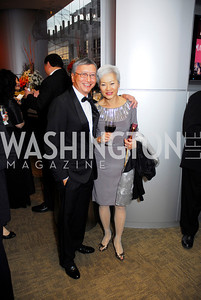 John Pann, Katherine Pann, Harmon Center Gala, October 17, 2011, Kyle Samperton