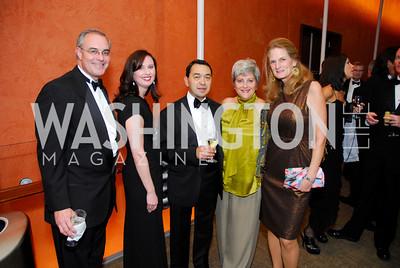 David Frederick, Patricia Estrada, Miguel Estrada, Martha Ann Alito, Sophie Lynn, Harmon Center Gala, October 17, 2011, Kyle Samperton