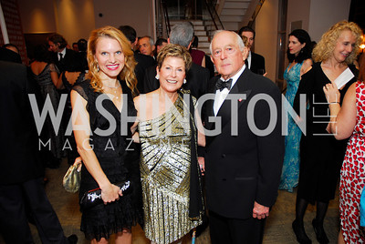 Ashley Allen, Anne Brown, Donald Brown, Harmon Center Gala, October 17, 2011, Kyle Samperton