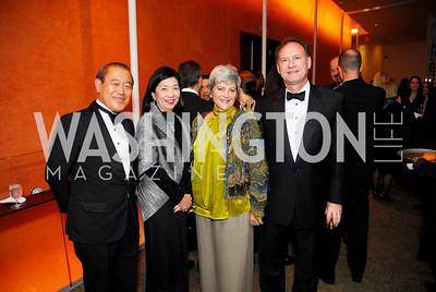 Ichiro Fujisaki, Yoriko Fujisaki, Martha Ann Alito, Samuel Alito, Harmon Center Gala, October 17, 2011, Kyle Samperton