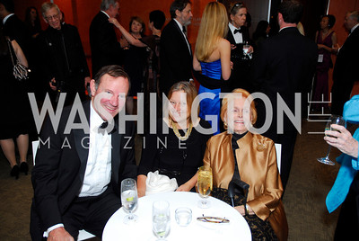 Donald Graham, Amanda Bennett, Polly Cutler, Harmon Center Gala, October 17, 2011, Kyle Samperton