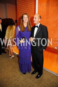 Patricia Vos, David Vos, Harmon Center Gala, October 17, 2011, Kyle Samperton