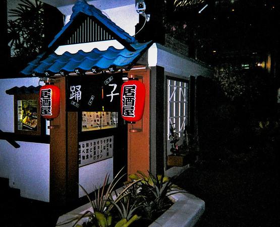 Japanese restaurant near hotel.