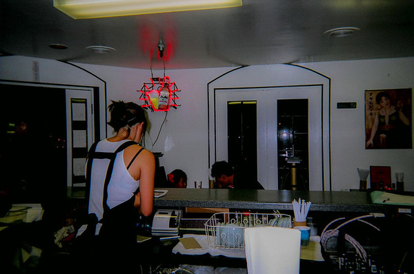 Japanese Bar near hotel where I stayed.