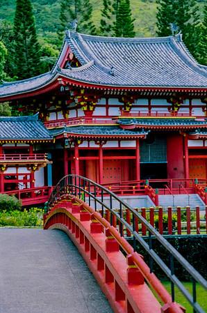 bridge to shrine