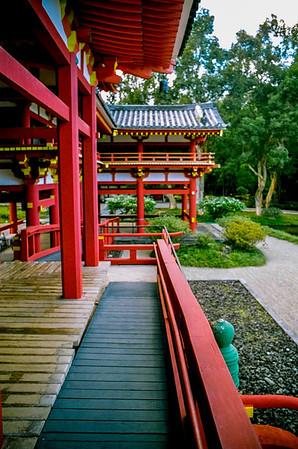 shrine walkway