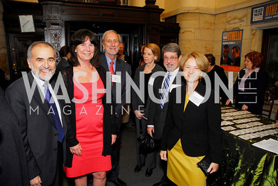 Robert Gagosian, Nancy Rabalais, Donael Boesch, Mike Boesch, Mel Briscoe, Susan Gagosian, Heinz Awards 2011, November 15, 2011, Kyle Samperton