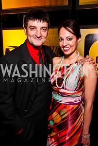 Paata Tsikurishvili, Salma Shaw. Helen Hayes Awards After Party. Photo by Tony Powell. JW Marriott. April 25, 2011
