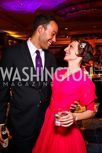 Matt Pearson, Emma Jaster. Helen Hayes Awards After Party. Photo by Tony Powell. JW Marriott. April 25, 2011