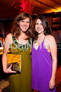 Jessica Burgess, Dana Levanovsky. Helen Hayes Awards After Party. Photo by Tony Powell. JW Marriott. April 25, 2011