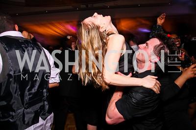 Katherine Frattini, John Robert Keena. Helen Hayes Awards After Party. Photo by Tony Powell. JW Marriott. April 25, 2011