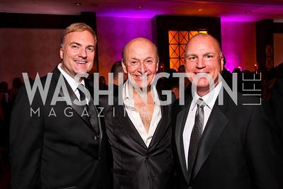 Mark Braswell, Victor Shargai, Joe Lagomarcino. Helen Hayes Awards After Party. Photo by Tony Powell. JW Marriott. April 25, 2011