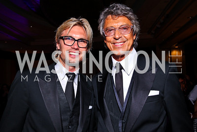 Tobias Larsson, Tommy Tune. Helen Hayes Awards After Party. Photo by Tony Powell. JW Marriott. April 25, 2011