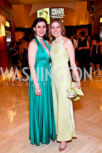 Kate Volpe, Leigh Anna Fry. Helen Hayes Awards After Party. Photo by Tony Powell. JW Marriott. April 25, 2011