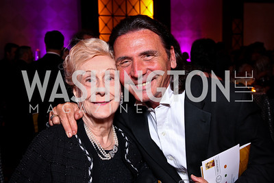 Evelyn Woolston-May, Richard Desonier. Helen Hayes Awards After Party. Photo by Tony Powell. JW Marriott. April 25, 2011
