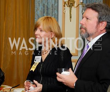 Bonnie Schwartz, Glenn Strong, February 2, 2011, Helen Hayes Nominations, Kyle Samperton