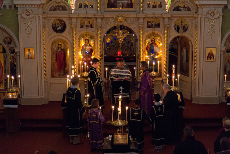 Holy Thursday Matins and Liturgy 2013
