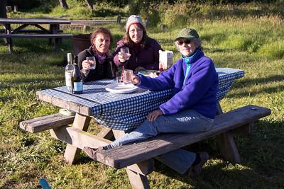 Camping at Mendocino Coast 5/17