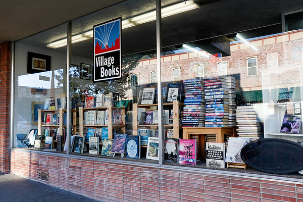 Two bookstores...I think this one is the used bookstore.