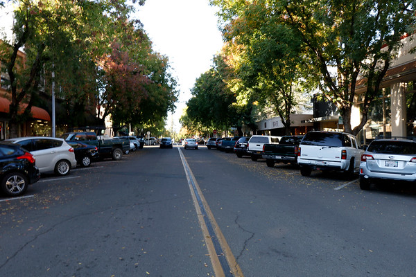 I took these pics of the town a week ago. My new little hippy town...