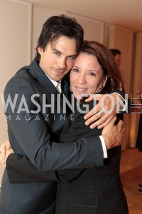 Ian Somerhalder, Kimball Stroud. IMPACT Arts+Film Fundís dinner with Ian Somerhalder. Photo by Alfredo Flores. Blue Duck Tavern. April 27, 2011
