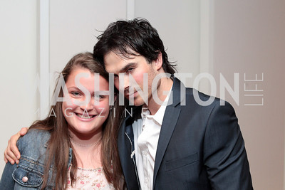 Ian Somerhalder. IMPACT Arts+Film Fundís dinner with Ian Somerhalder. Photo by Alfredo Flores. Blue Duck Tavern. April 27, 2011