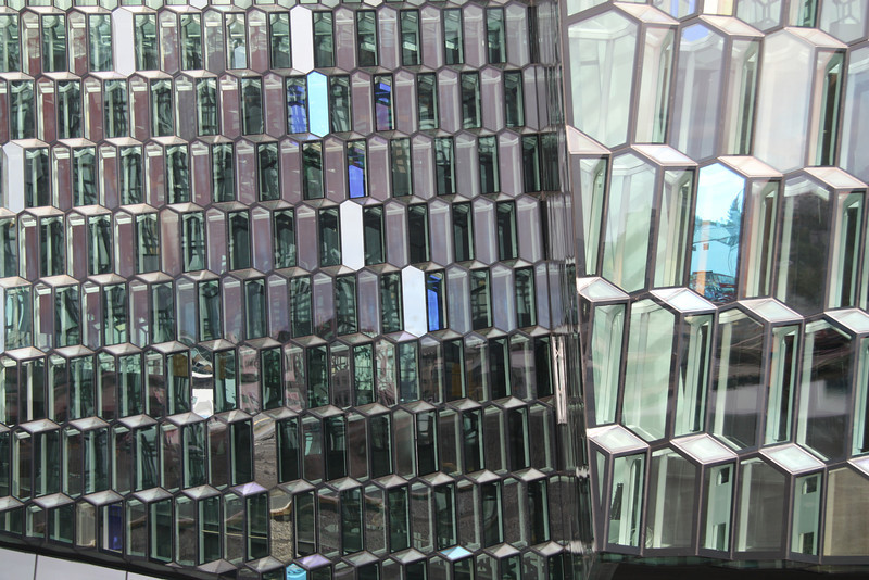 The Harpa Center in Reykjavik