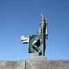 Statue of Leif Erickson in front of Hallgrimskirkja Church, Reykjavik