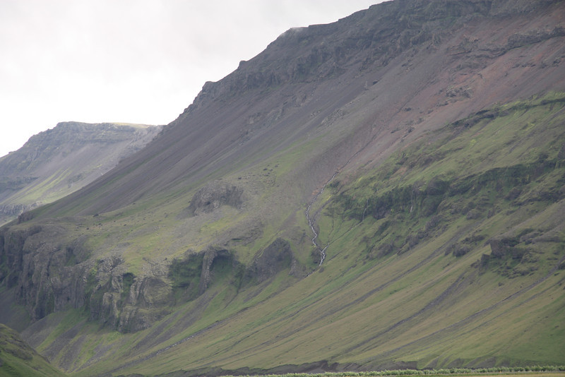 Mountains along Ring Road, South Iceland