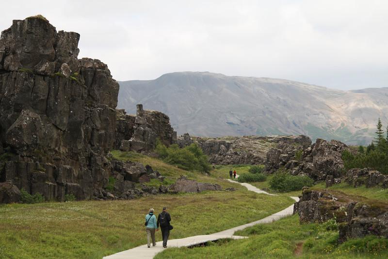 The Silfra rift at Þingvellir