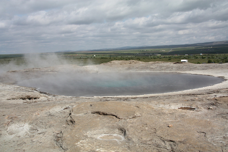 Geysir area, from all geysers got their name, Iceland