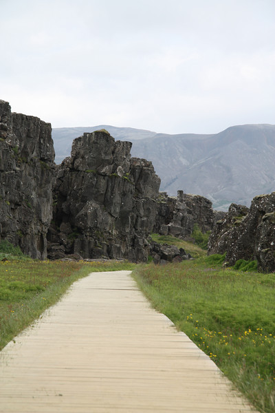 The Silfra rift at Þingvellir