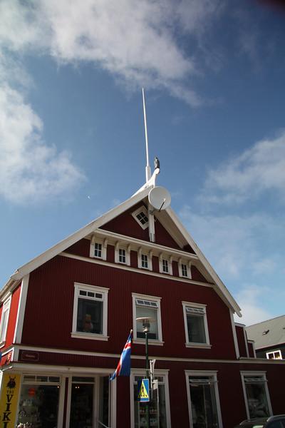 Buildings in Reykjavik