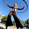 "Kristina Sutcliffe, of O Dance, held a hoop dance class during the celebration.<br /> Boulder Green Streets, a celebration of sustainability and public health, was held on Pearl Street  on Sunday.<br /> For more photos of Green Streets, go to  <a href=""http://www.dailycamera.com"">http://www.dailycamera.com</a>.<br /> Cliff Grassmick / September 19, 2010"
