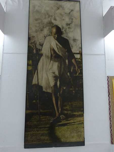 Ghandi on the Salt walk