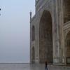 TIny Muriel and the BIG Taj Mahal