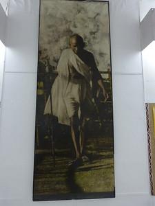 Ghandi on the Salt walk