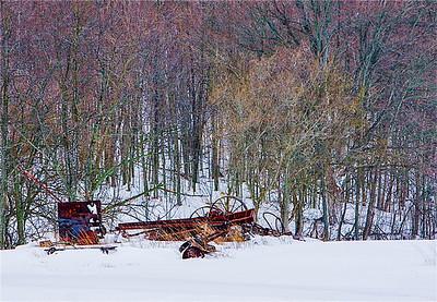 winter junkpile