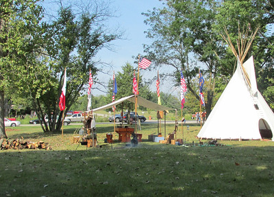 The encampment part of the event, otherwise it's mostly trinkets & bling for the girls.