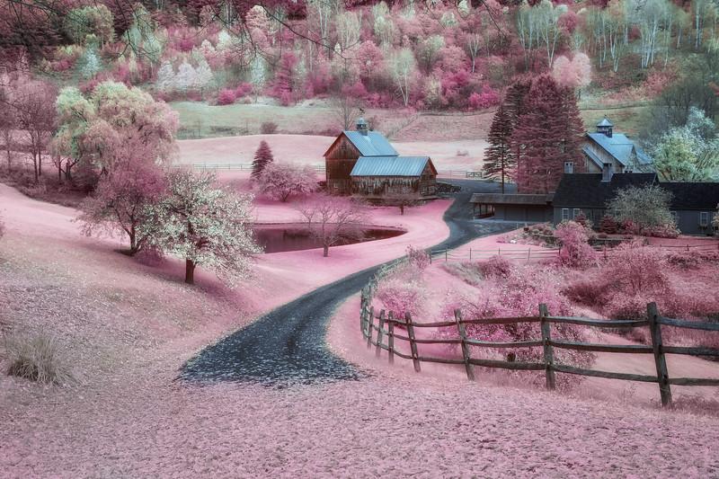 Sleepy Hollow Farm, Vermont (Infrared)