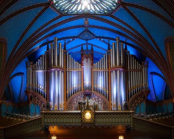 Notre Dame Basilica Montreal Organ