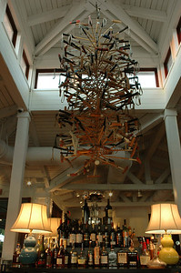 Mallets sculpture in the International Polo Club Palm Beach by Maison e Maison.