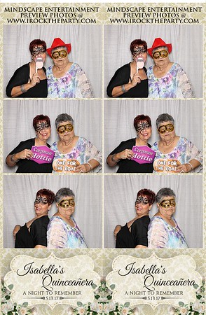 Isabella's Quinceanera-Photo Booth Pictures