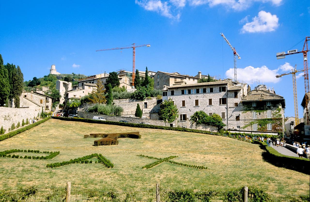 Skyline - Assisi, Italy