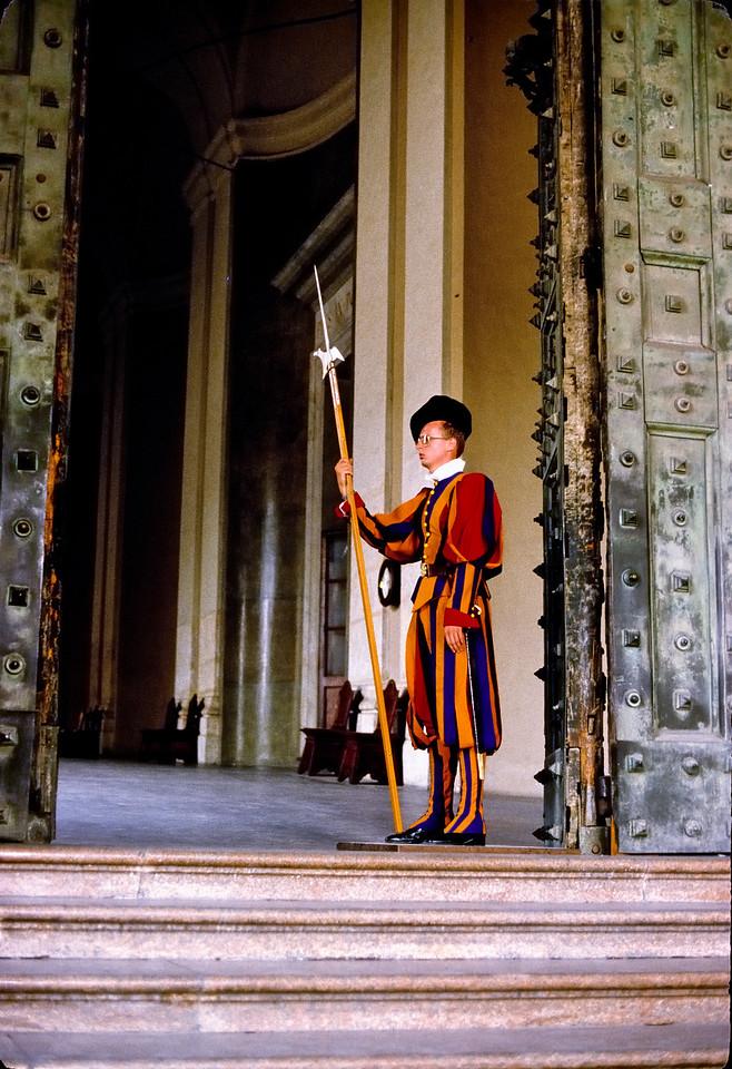 Swiss guard - The Vatican