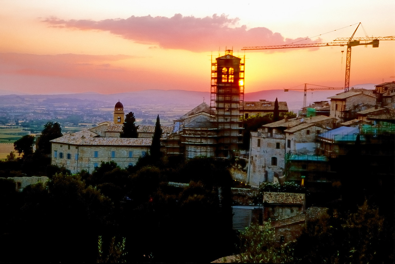 Sunset - Assisi, Italy