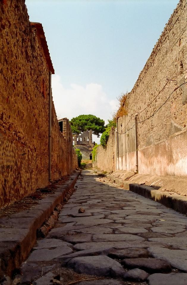 Street - Pompeii, Italy